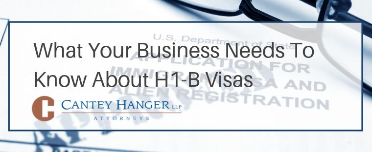 Guide to H-1B Visas - Susan E. Lane - Cantey Hanger