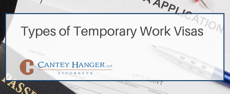 Types of Temporary Work Visas